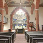 Kircheninnenraum nach der Sanierung