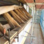 Instandsetzung Traufe Dach Kirchenschiff